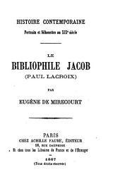 Le bibliophile Jacob (Paul Lacroix)