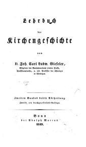 Lehrbuch der Kirchengeschichte: Band 2,Ausgabe 3