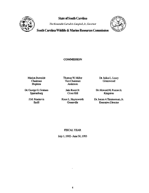 Report of South Carolina Wildlife and Marine Resources Department PDF