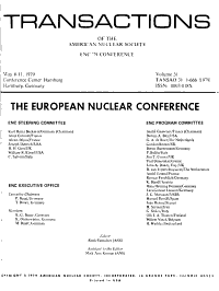 Transactions of the American Nuclear Society PDF