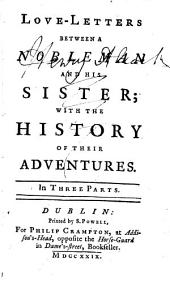 Love-letters between a nobleman and his sister; with the history of their adventures