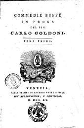 Opere teatrali del sig. avvocato Carlo Goldoni veneziano: con rami allusivi: Commedie buffe in prosa del sig. Carlo Goldoni. Tomo secondo. 12, Volume 11
