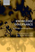 Knowledge Governance PDF