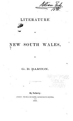 Literature in New South Wales