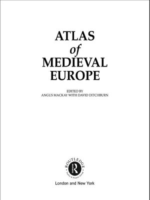 Atlas of Medieval Europe PDF