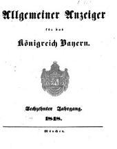 Allgemeiner Anzeiger für das Königreich Bayern: Gerichtliche und polizeyliche Bekanntmachungen, Band 16