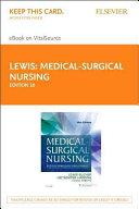 Medical surgical Nursing  Elsevier EBook on VitalSource PDF