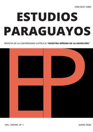 REVISTA ESTUDIOS PARAGUAYOS   VOL 38   N  1   2020 PDF