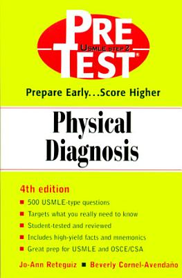 Physical Diagnosis  PreTest Self Assessment and Review PDF