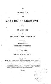 The Works of Oliver Goldsmith: With an Account of His Life and Writings, Volume 17