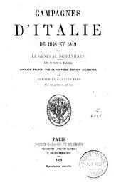 Campagnes d'Italie de 1848 et 1849
