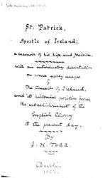 St  Patrick  Apostle of Ireland PDF