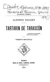 Tartarin de Tarascón