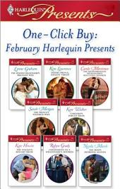 One-Click Buy: February 2009 Harlequin Presents: The Spanish Billionaire's Pregnant Wife\Desert Prince, Defiant Virgin\The Mediterranean Millionaire's Reluctant Mis\The Prince's Waitress Wife\Cordero's Forced Bride\The Italian's Bought Bride