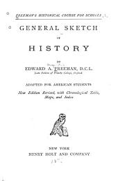 General Sketch of History