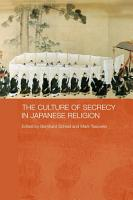 The Culture of Secrecy in Japanese Religion PDF