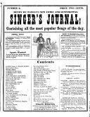 Henry De Marsan's New Comic and Sentimental Singer's Journal