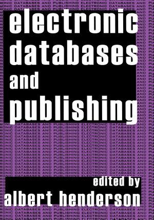 Electronic Databases and Publishing PDF