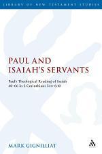Paul and Isaiah's Servants