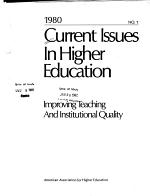Current Issues in Higher Education PDF