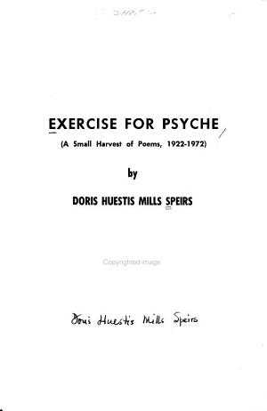 Exercise for Psyche