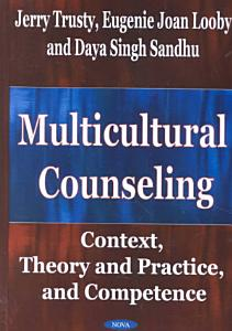 Multicultural Counseling Book