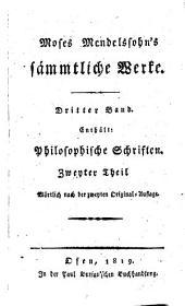 Philosophische Schriften: 2.3