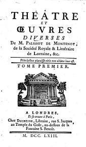Théâtre et oeuvres diverses