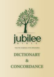 Jubilee Bible 2000 Dictionary Concordance Book PDF