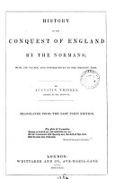 History of the conquest of England by the Normans  tr  by C C  Hamilton   PDF