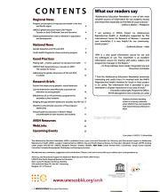 Adolescence Education Newsletter PDF