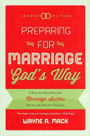 Preparing for Marriage God s Way