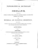 A topographical dictionary of Ireland PDF