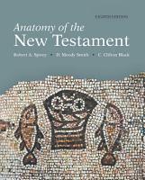 Anatomy of the New Testament  8th Edition PDF