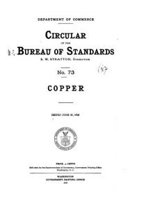 Circular of the Bureau of Standards Book