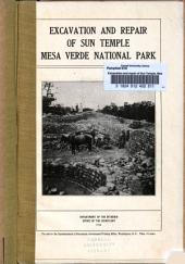 Excavation and Repair of Sun Temple, Mesa Verde National Park