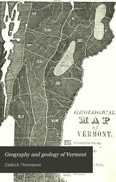 Geography and geology of Vermont: with state and county outline maps