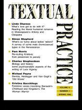 Textual Practice: Volume 6, Issue 1