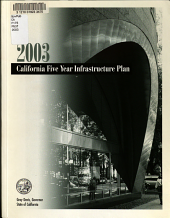 California s Five Year Infrastructure Plan PDF