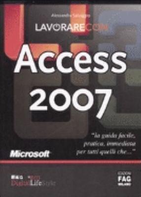 Lavorare con Access 2007 PDF