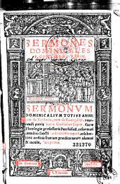 Sermones dominicales F. Guillielmi Pepin, Sermonum dominicalium totius anni...Guillielmi Pepin...Pars prima (secunda)