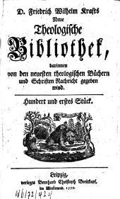 Neue theologische Bibliothek: Band 101