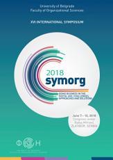 Symposium proceedings   XVI International symposium Symorg 2018 PDF