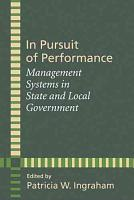 In Pursuit of Performance PDF