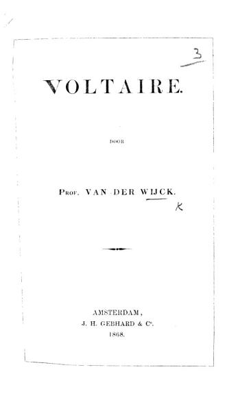Download Voltaire   On his character and influence   Book