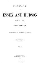 History of Essex and Hudson Counties  New Jersey PDF