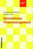 Betriebliches Finanzmanagement PDF
