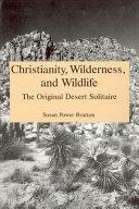 Christianity  Wilderness  and Wildlife PDF