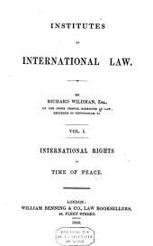 Institutes of International Law: Volume 2