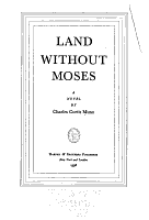 Land Without Moses PDF